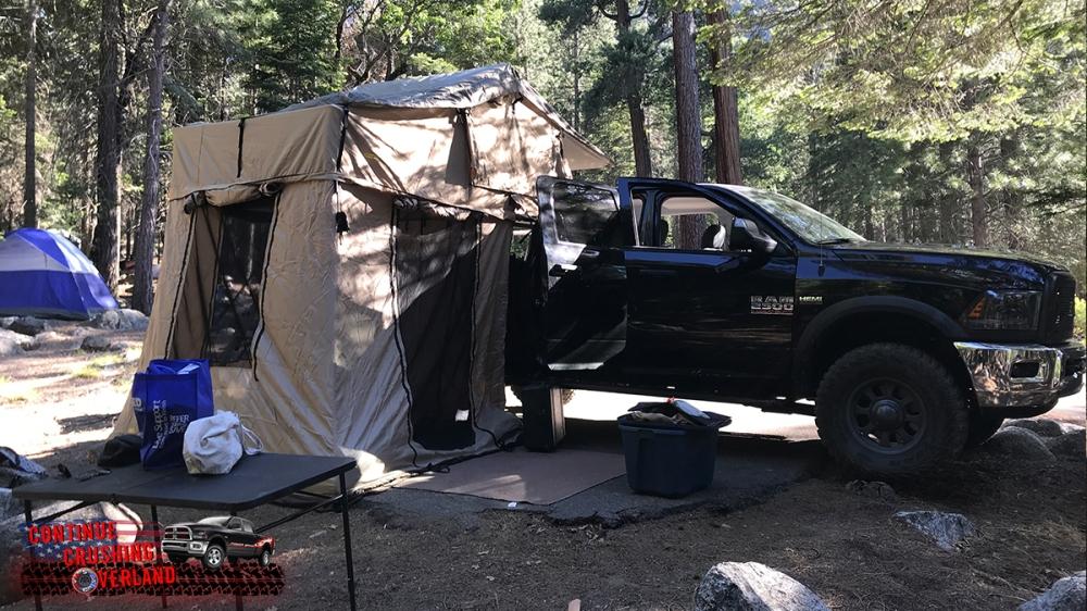 smittybilt overlander xl tent with annex 2888 2883 continue crushing overland